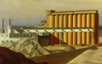 Silos by Sheeler